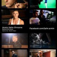 دانلود پشت صحنه موزیک ویدیو جدید آرمین ۲afm