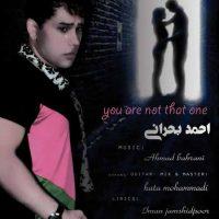 دانلود آهنگ جدید احمد بحرانی به نام تو همون نیستی
