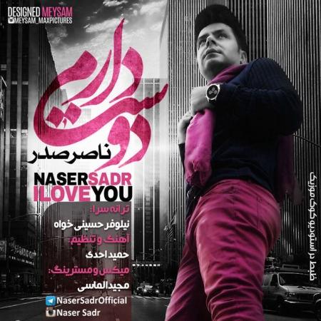 دانلود آهنگ ناصر صدر به نام دوست دارم